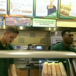 Jordan Henderson and Daniel Sturridge doing a shift in a Boston Subway http://t.co/adKuRO1eU5
