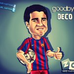 RT @barcastuff: Cartoon: Good bye, Deco http://t.co/K3Y3VrdjwC [by @zezo_cartoons]