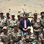 RT @sudhirchaudhary: It was a grt experience to share some time with our brave hearts in Kargil&Dras sector. http://t.co/M3InL0EYZu