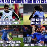 Chelsea plan next season.. http://t.co/gGFCWGi7If