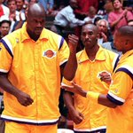 Flashback: Kobe Bryant, Shaquille ONeal, and Byron Scott. http://t.co/QLgzvUXM2K