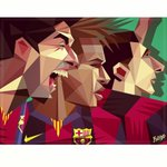 RT @barcastuff: Illustration: Suarez, Neymar and Messi http://t.co/b3aPkmtlAT [by @robingundersen]