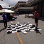 RT @CAPTeam: We have some friendly competition happening with our checkers board game! Cap vs Eco team! #downtownkamloops http://t.co/zKZmkE30HR