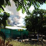 RT @feuerfree: @CDGRD_N_S. Incendio en cerros occidental de la recta corozal. http://t.co/OeQdVZNyCJ