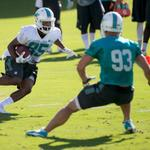 Former Glades Central star Rantavious Wooten returns a kick today at #Dolphins camp http://t.co/Fr8ZKJ7fpK http://t.co/rcVhtMeaMT