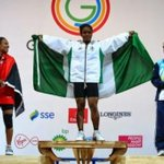 RT @QwikGistNG: Nigeria wins first gold in Commonwealth Games in Glasgow: http://t.co/dRwrH9azYM http://t.co/XpDJq8rXSs