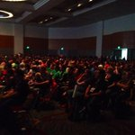 @CW_Arrow @ARROWwriters #Ballroom20 is filled to the brim awaiting #Arrow panel #SDCC #SDCC2014 http://t.co/CXW8wMXer3
