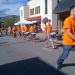 The KISSM drum line killed it @ our Battle of the Bands stage.. There they go onto Victoria Street! http://t.co/twhfVH45cs