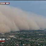 ALERT A large #haboob is moving its way across the valley http://t.co/82aVYCTfwi