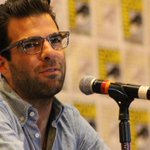 Spotted at @Comic_Con: @ZacharyQuinto #SDCC #ComicCon photo: @sand_rad http://t.co/ROBiK178aK