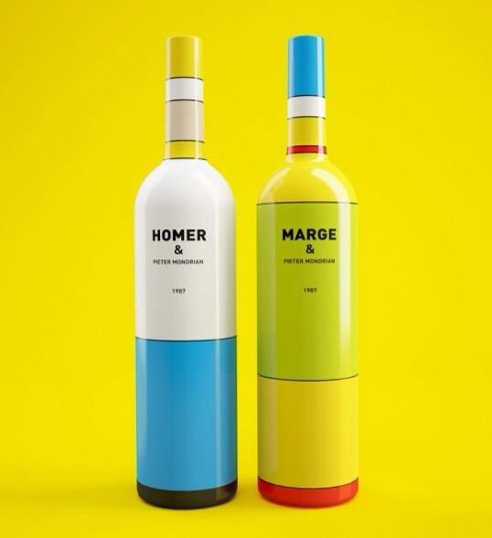 Concept Simpsons wine packaging by CJ artist Constantin Bolimond. Do you like? http://t.co/lfUeAGLR2A