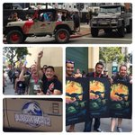 RT @JurassicPark: Thanks for a great day #SDCC! The #JurassicWorld poster giveaway will be back in action tomorrow! #sdcc2014 http://t.co/fr3W9b87fc