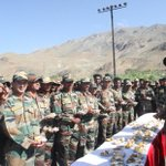 RT @ShivAroor: Army jawans at Dras today for #KargilVijayDiwas. http://t.co/Q3zMCb6kbh