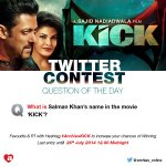 RT @Archies_Online: And heres the first question. Use hashtag #ArchiesKICK & reply to us. @BeingSalmanKhan @Asli_Jacqueline @GetYourKick http://t.co/BBGJHwn1ms