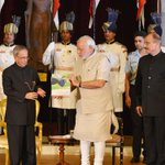 RT @RashtrapatiBhvn: PM Modi released book  Winged Wonders of Rashtrapati Bhavan on the birds of the Presidential Estate yesterday http://t.co/zz1cNkwGoP