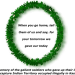 Kargil Vijay Divas, 26 th july. Tribute to our brave soldiers who gave their lives during Kargil war. http://t.co/QBNhnkuCko