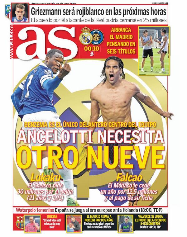 BtckQAmIEAAbBoa Chelseas Romelu Lukaku is Real Madrids 2nd striker option, if they cant get Falcao [AS]