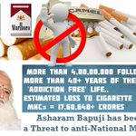 Economically, #WhyBapujiTargeted as 4 crore Asharam Bapu Jis followers r living addiction free life since 40+ years http://t.co/Srz3bnGxhP