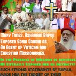 Asaram Bapuji works for Hinduism. This causes loss to Missionaries. So, they conspire against Him #WhyBapujiTargeted http://t.co/0fQaioO7mI