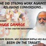 #WhyBapujiTargeted : Hindu Saint Asaram Bapu Ji brought HUGE DAMAGE to the Christian Missionarieshttp://t.co/tDtUkbDC3r @narendramodi