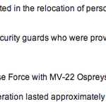 "Just in: @PentagonPresSec says that the military ""assisted in the relocation of personnel"" from U.S. Embassy Tripoli http://t.co/Oyc9COfa4g"