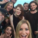 RT @JonSnowBastrd: Game of Thrones cast selfie. #SDCC http://t.co/2IQanXwgyR