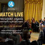 RT @YALINetwork: President Obama to hold town hall with Washington Fellows July 28. Watch LIVE http://t.co/6xAUcItxaG. #YALICHAT http://t.co/kL8Bli3T34