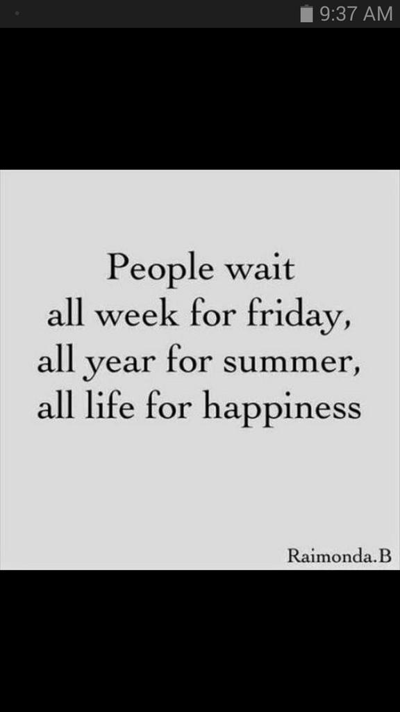 People continue to wait. Unfortunately,  our days are numbered - what are you waiting for? http://t.co/JQJM51WnfN