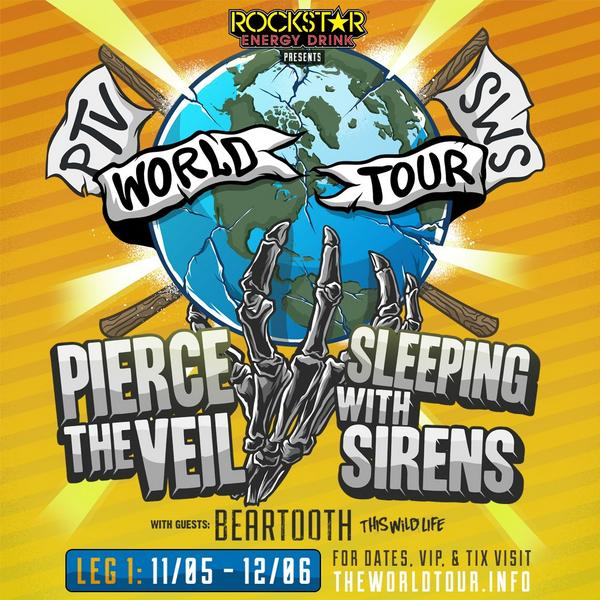 East Coast dates for our @rockstarenergy #TheWorldTour are now on sale! Get yours at