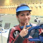 RT @HTSportsNews: APURVI CHANDELA wins GOLD in womens 10m Air Rifle #Glasgow2014 #CWG2014 #CWG #GoIndia http://t.co/jvwlVIh1TV