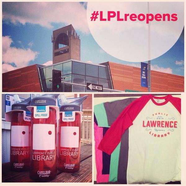 It's almost time! Don't forget to share pics throughout the day with the hashtag #LPLreopens for a chance to win swag http://t.co/TUXnbwfZbV