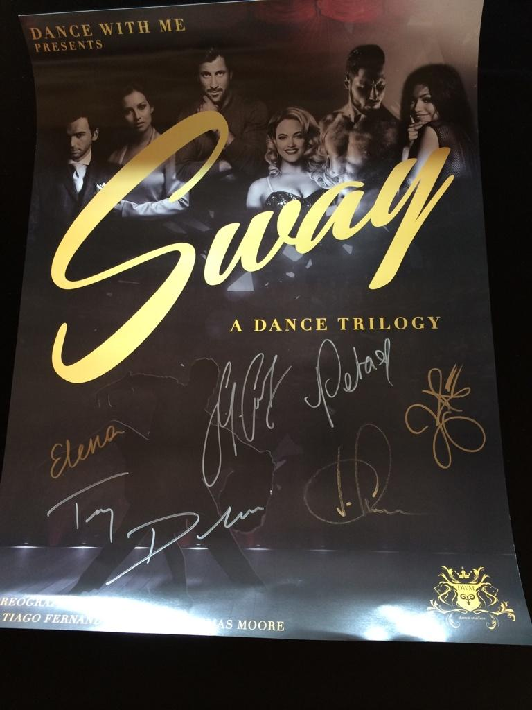 Elena Grinenko  @elenagrinenko: Me me me ;) RT @DanceWithMeUSA: Well that was fun...  Now who's ready for ROUND 2 of #SWAY? http://t.co/QkfYavQQ4i