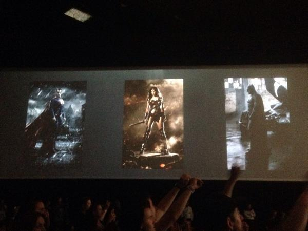 Batman, Wonder Woman & Superman#sdcc http://t.co/A1PKkJAEjP