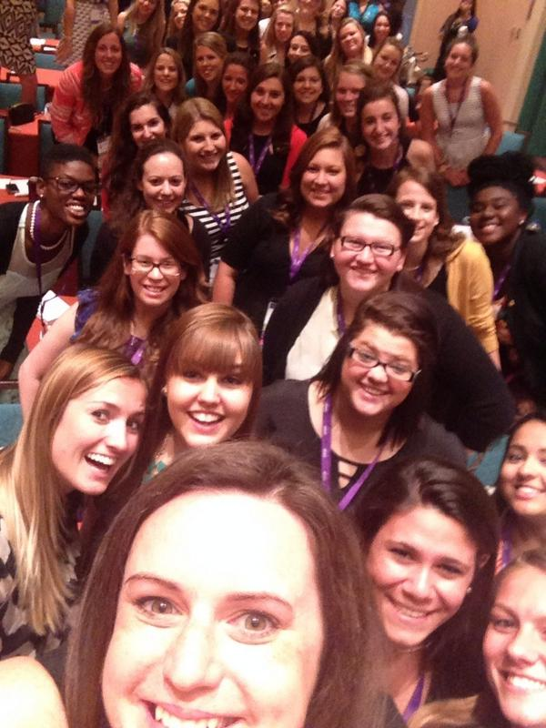 Round 2 presenting at @dphieihq Convention selfie! #disneydeepher #katieigb http://t.co/sNnO5tyAdz