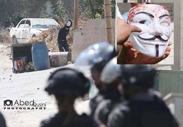 Photo appears to show Anonymous member killed in Israel: @YourAnonNews @RamAbdu