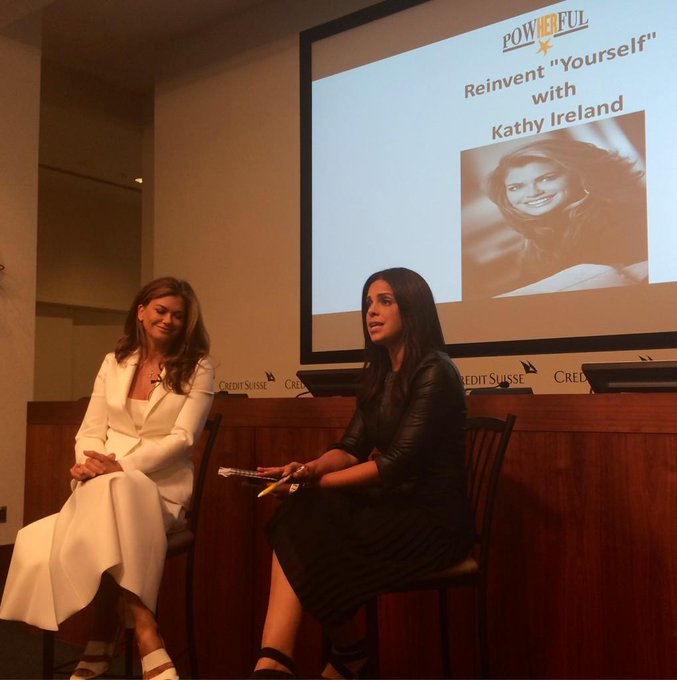 kathy ireland @kathyireland: RT @SoledadFdn: @kathyireland gave great advice to our 200 girls. #PowHERfulNYC http://t.co/sM8x62eJPT