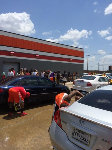 The @skew_u car wash was a blasssttt today!!! Thank you to everyone that came out and showed love and got shined up! http://t.co/2aeNbs1lhE
