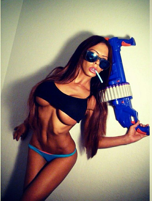 I don't know if anyone told u, but war was declared............................#NerfWar! Wanna be on
