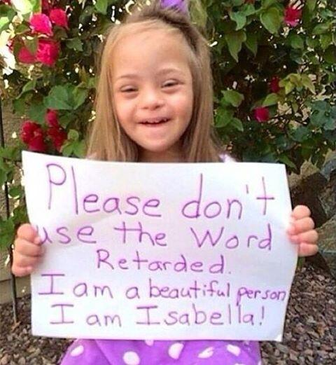 Just came across this and needed to share. Isabella, your photo and message say it all. Beautiful. http://t.co/gBP8LPqDtd