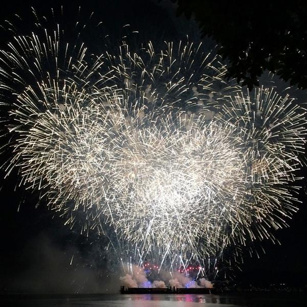 Great shown by the #USA for night one of @CelebOfLight #Vancouver http://t.co/ptsYIECqiM