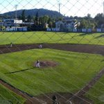 What a view! Saturday night ball at Joe Martin Field @bhambells vs @CowlitzBBears @WCLBaseball #BELLieve @NickCaples http://t.co/Ky0SNUy2GL