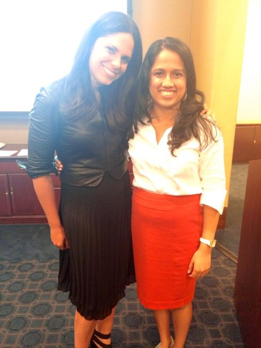 kathy ireland @kathyireland: RT @SpeakerShinjini: @soledadobrien You are my role model!!! Thank you for a phenomenal PowHERful! All inspirational women <3 http://t.co/7…