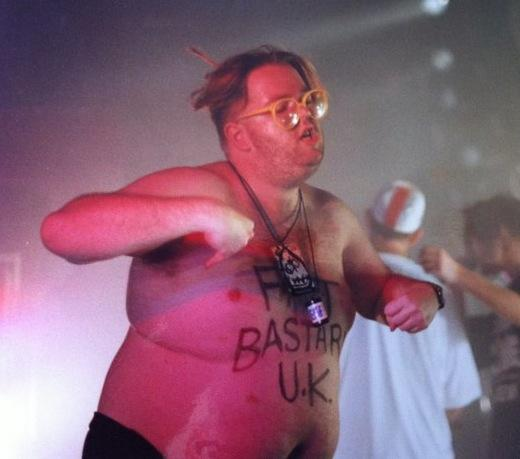 Very saddened to hear that the legendary Jon Fat Beast passed away this morning. http://t.co/XQzIVKkrPq