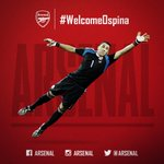 RT @Arsenal: Its official - @Arsenal are to sign David Ospina! Full details here: http://t.co/vDDq9LHE8g #WelcomeOspina http://t.co/MtNnHFz4WT
