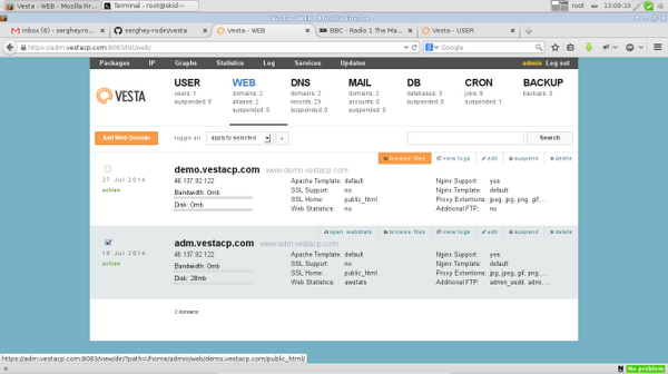 Cara Mudah Install Vesta Control Panel Pada OS Linux - AnekaNews.net