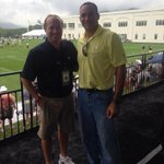 "#WVU ""RT @The_Greenbrier: Great having WVU Head Coach @Holgorsendana @saints training camp! ???? http://t.co/A3v0rB7GGu"""