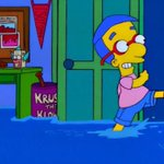 """Hey! They work! My feet are soaked but my cuffs are bone dry! Everythings coming up Milhouse!"" http://t.co/i8RYo56fRd"
