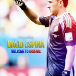 We are the Arsenal #COYG #AFC RT @PhotosArsenal: Welcome to Arsenal David Ospina - Edit RTs Appreciated: http://t.co/aHonBYPaNN