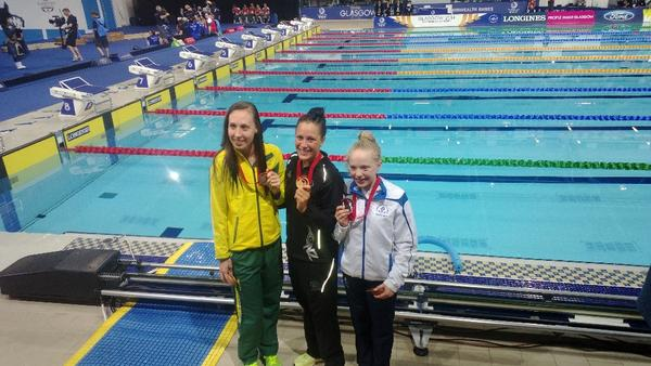 Tear jerking moment #glasgow2014 with #Erraiddavies youngest ever Scottish athlete winning Bronze. Loved her work http://t.co/p0AHhCwpdV
