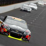 RT @SportsCenter: Jeff Gordon wins the Brickyard! Gordon holds off Busch for his fifth win in Indy, tied for most all-time at track. http://t.co/oL35umJAXO